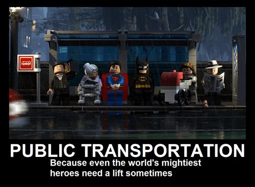 lego public transportation superheroes funny - 7493837824