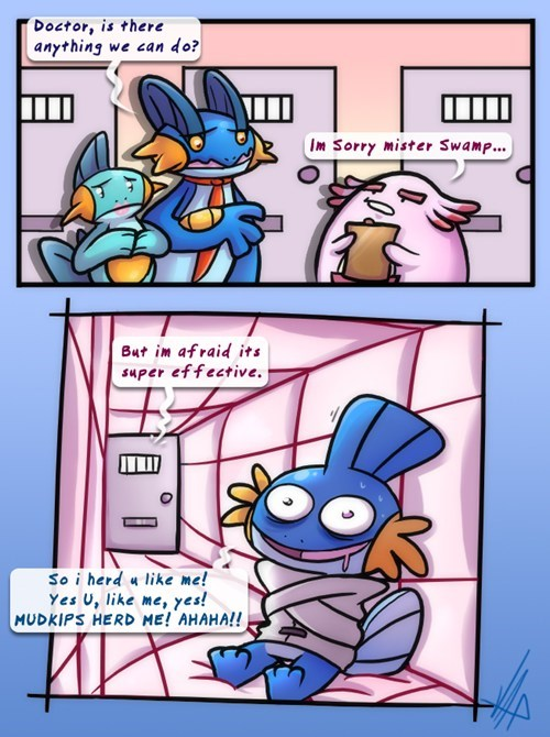 mudkip Pokémon comics funny - 7493947392