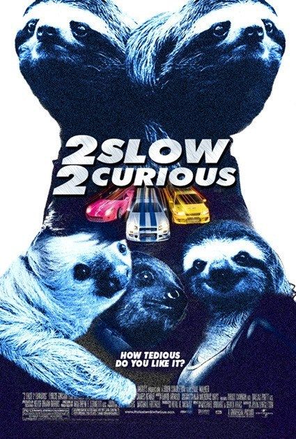 Fast and the Furious,movies,sloths,funny