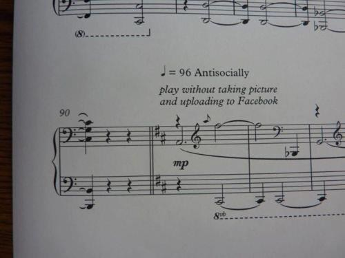 Music,facebook,sheet music,funny