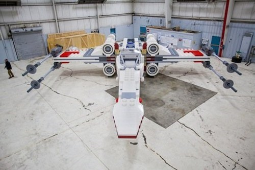 nerdgasm,lego,star wars,x wing