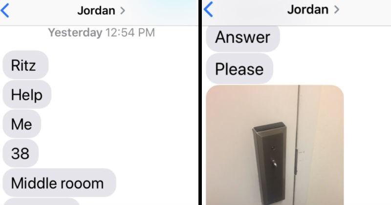 hotel FAIL conversation texting funny - 7494405