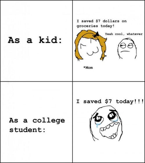 saving money,kids,childhood,frugal,funny,money,college