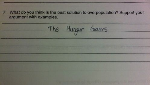 schoolwork hunger games funny - 7494521088