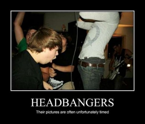 hardcore headbanging funny faces - 7494547456