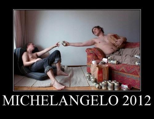 art michelangelo 2012 funny - 7494548480