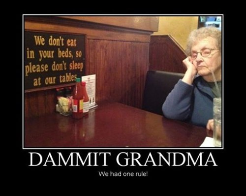 sign grandma funny - 7494550016