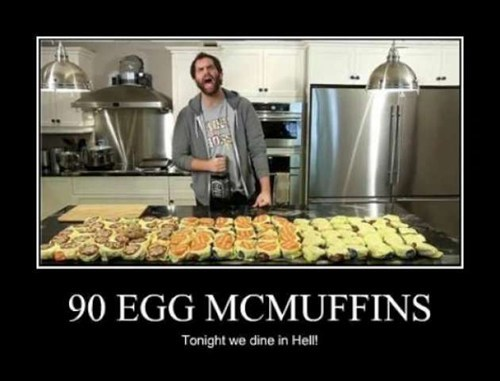 gross egg mcmuffins food funny - 7494594304