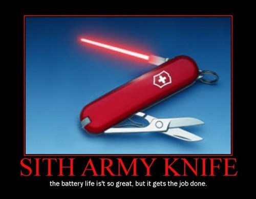 star wars swiss army sith funny - 7494605568