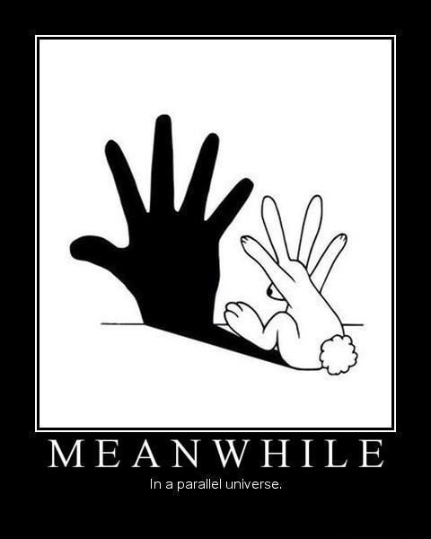 bunny hand funny shadow puppets - 7494618368