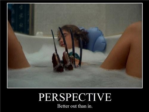 horror freddy kreuger perspective funny - 7494636032