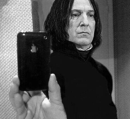 selfie Harry Potter snape funny - 7494692096