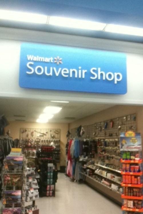 souvenirs Walmart monday thru friday g rated