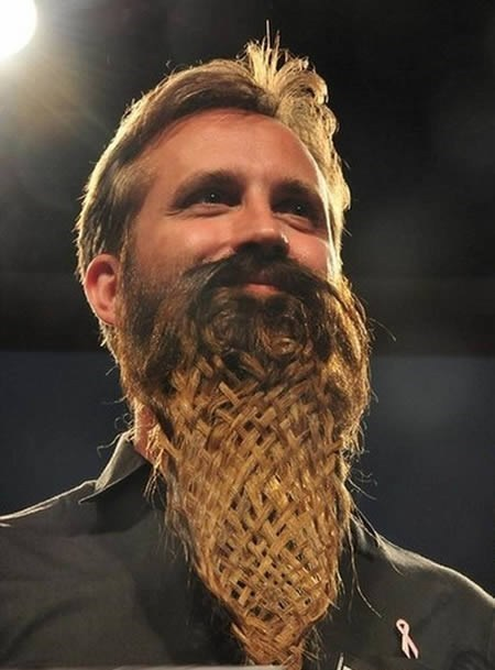 braided beards,beards,funny