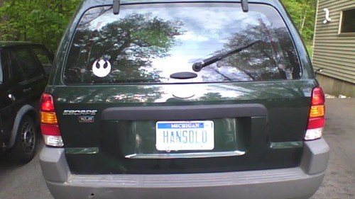 scifi star wars cars Han Solo - 7494831872