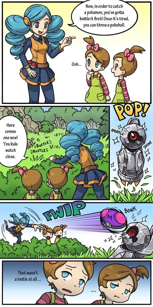 Pokémon beldum masterball shinies comics funny - 7494842880