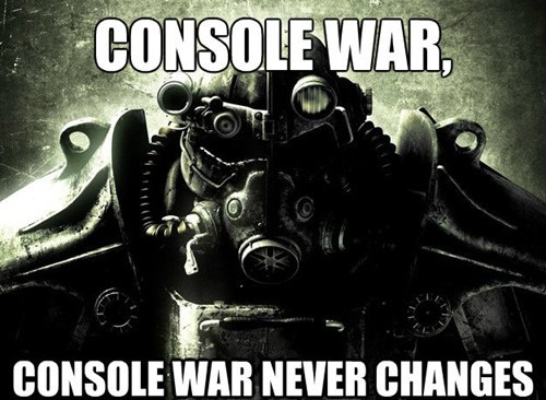 quotes,fallout,war never changes,funny,xbox one