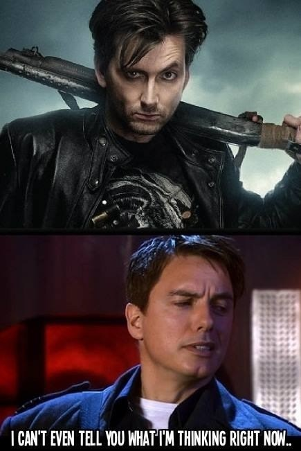 Captain Jack Harkness,David Tennant,doctor who