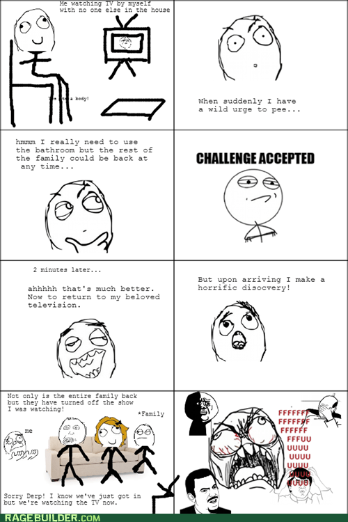 Challenge Accepted TV funny television - 7494959104