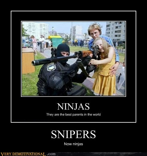 ninja kids snipers funny - 7495086336