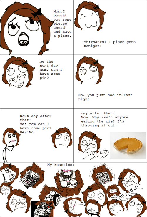 moms,pie,parenting,mom logic