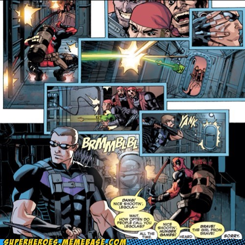 deadpool off the page hawkeye names - 7495513856