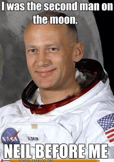 buzz aldrin astronaut neil armstrong space funny - 7496583168