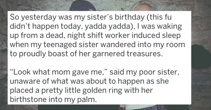 tifu story sister's birthday backfire