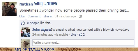 facebook bjs driving test funny
