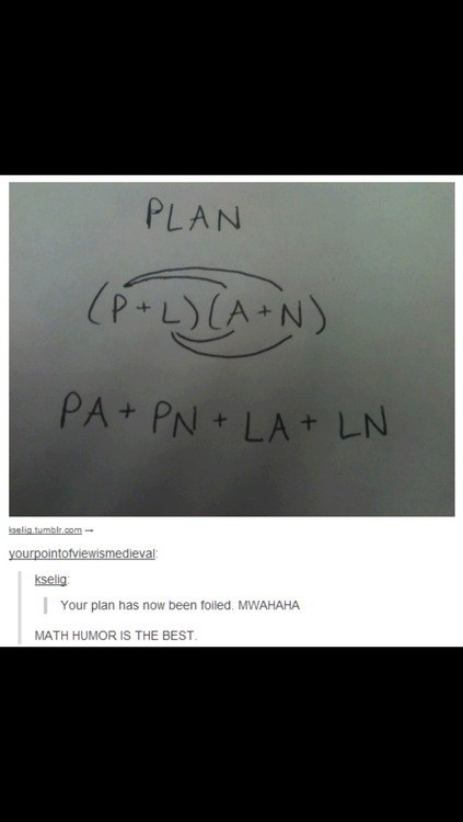 puns FOIL method math funny - 7497625600