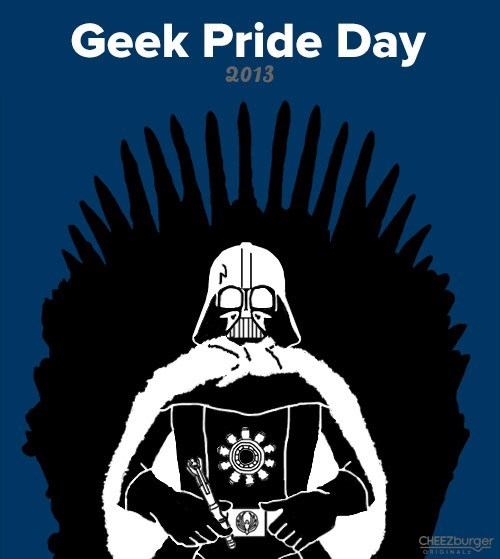 star wars Hitchhikers Guide To the Galaxy geek pride day - 7497754112