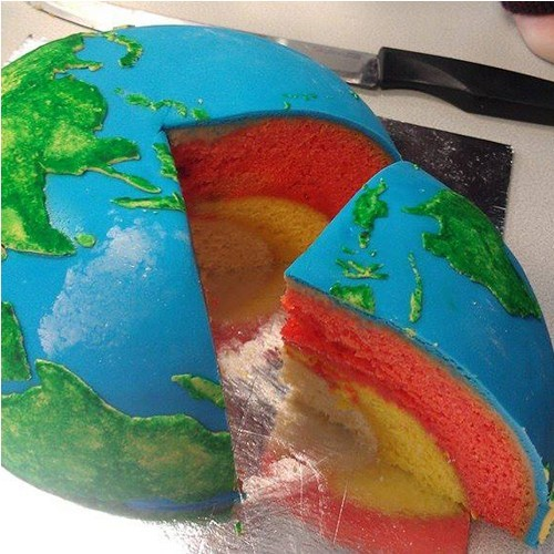 cake design globe geography funny g rated win - 7498354688
