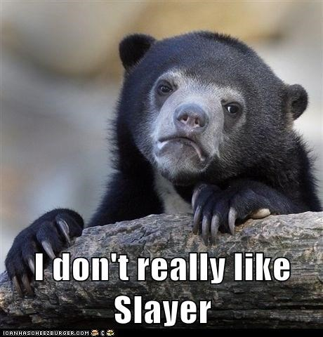 metal Music slayer Confession Bear funny