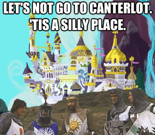 monty python funny canterlot - 7499493376
