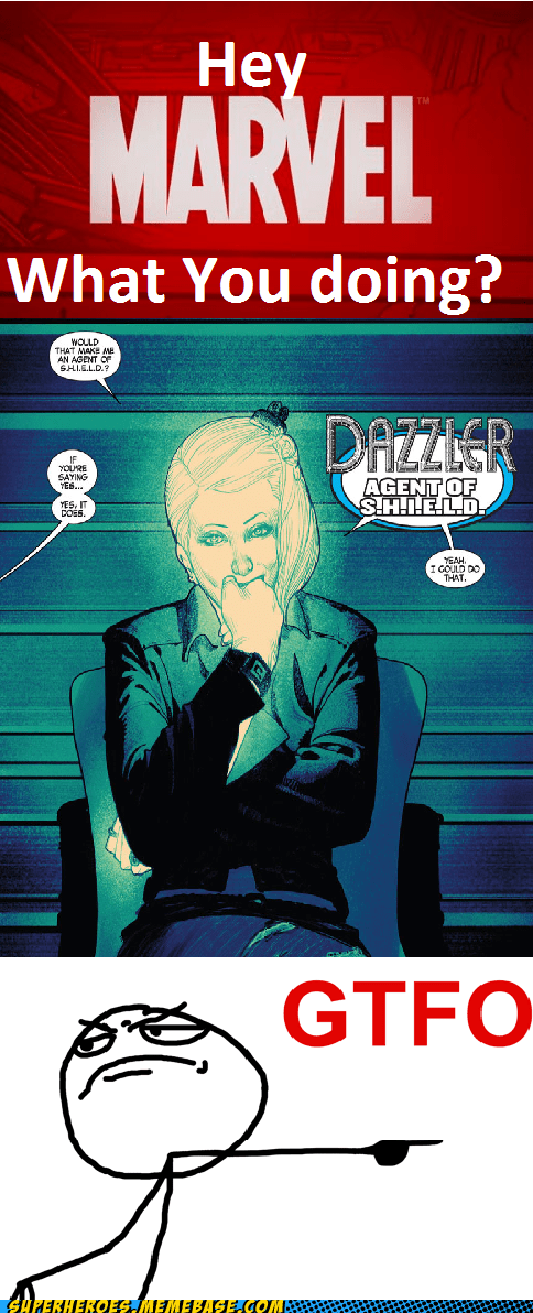 marvel wtf bad idea dazzler funny avengers - 7499589376