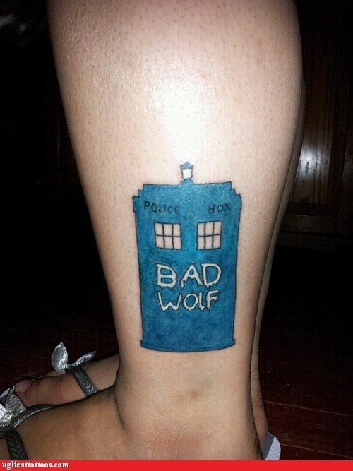 nerdgasm bad wolf doctor who funny - 7499602688