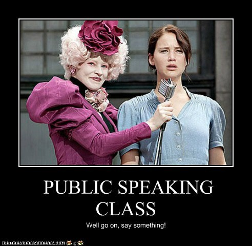 PUBLIC SPEAKING CLASS - Cheezburger - Funny Memes | Funny Pictures