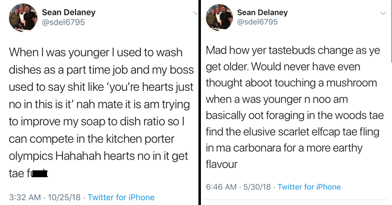 Funny scottish tweets