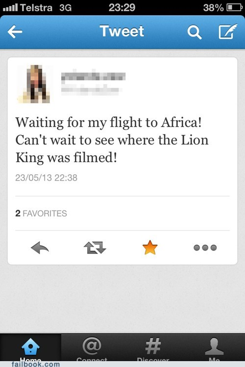 the lion king twitter africa funny failbook g rated - 7500772864