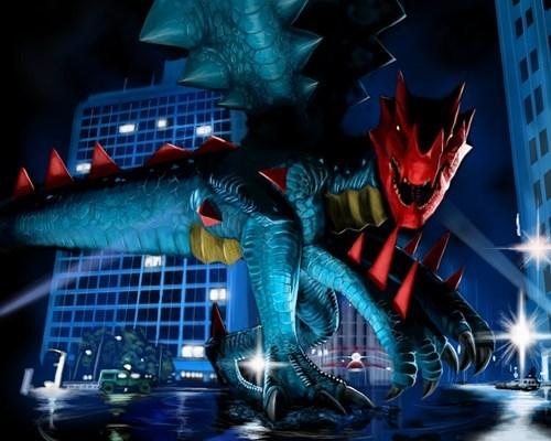 Pokémon art Druddigon - 7503074304