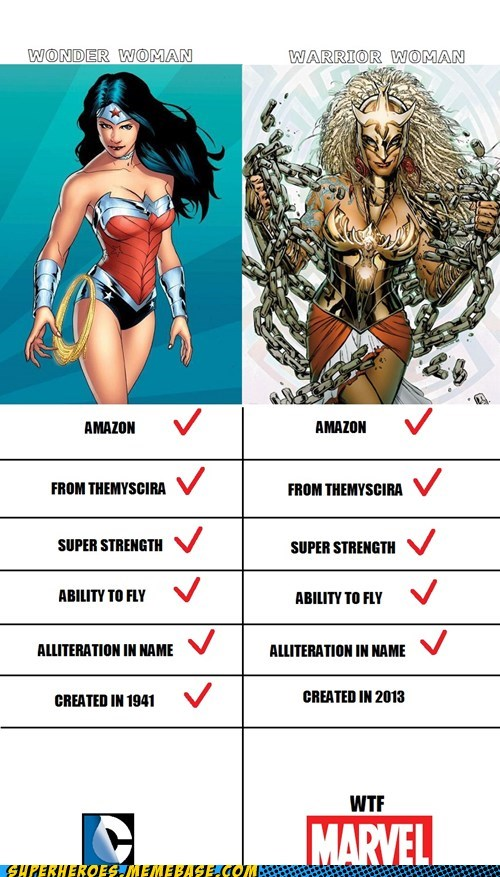marvel wonder woman DC warrior woman funny - 7505164800