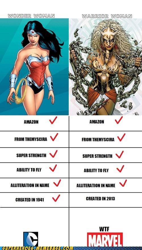 marvel wonder woman DC warrior woman funny - 7505164800