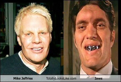 jaws,mike jeffries,totally looks like,funny