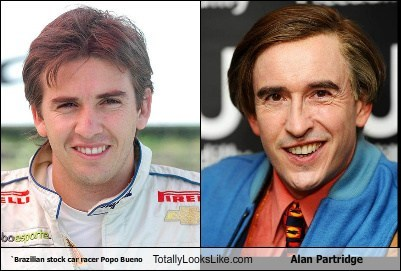 `Brazilian stock car racer Popo Bueno Totally Looks Like Alan Partridge