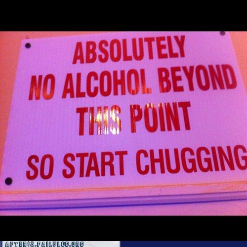 sign,absolutely,chugging,funny