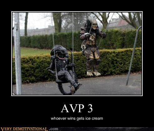 swings,alien vs predator,funny
