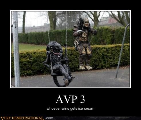 swings alien vs predator funny - 7507661568