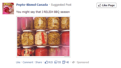 relish,pepto bismol,puns,facebook,funny,Canada