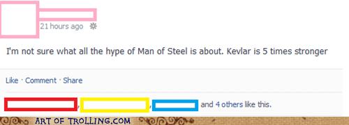 kevlar,man of steel,funny