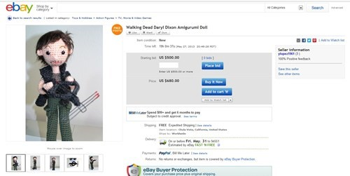 wtf,The Walking Dead,ebay